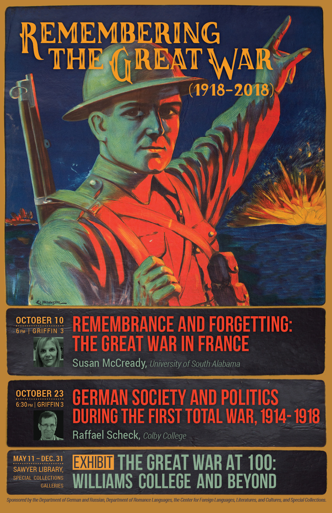 Williams College Remembers the First World War – Office of
