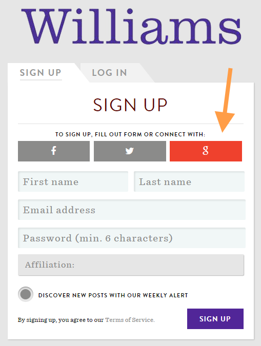 switchboard signup form