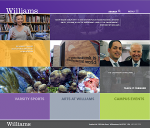 Williams Homepage
